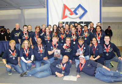 Some of our First FRC Team to make it to the World Competition